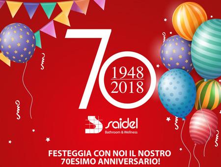Festeggia con noi il nostro 70esimo Anniversario!