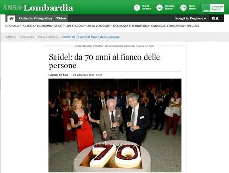 Saidel: da 70 anni al fianco delle persone